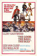 "Movie Posters:War, The Good, the Bad, and the Ugly (United Artists, 1968). One Sheet(27"" X 41""). Clint Eastwood, Lee Van Cleef and Eli Wallach..."
