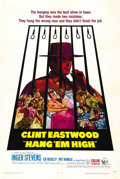 """Movie Posters:Western, Hang 'Em High (United Artists, 1968). One Sheet (27"""" X 41""""). This epic tale of revenge did very well at the box office and r..."""