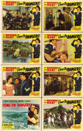 "Movie Posters:Western, Come On, Rangers! (Republic, 1938). Lobby Card Set of 8 (11"" X 14""). Beautiful near pristine set of lobby cards for this ear... (Total: 8 Items)"