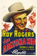 "Movie Posters:Western, The Arizona Kid (Republic, 1939). One Sheet (27"" X 41""). Roy Rogersstars in yet another B Western opera, however, the thing..."