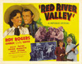 """Movie Posters:Western, Red River Valley (Republic, 1941). Half Sheet (22"""" X 28"""") Style B. A group of ranchers fighting a drought have banded togeth..."""