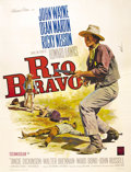 "Movie Posters:Western, Rio Bravo (Warner Brothers, 1959). French Grande (47"" X 63""). ""RioBravo"" has continued to gain stature through the years an..."