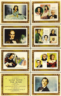 "Movie Posters:Romance, Gone with the Wind (MGM, 1939). Roadshow Lobby Card Set of 8 (11"" X14""). When ""Gone with the Wind"" was originally released ... (Total:8 Items)"