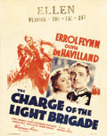 "Movie Posters:Action, The Charge of the Light Brigade (Warner Brothers, 1936). Jumbo Window Card (22"" X 28""). Michael Curtiz directed his favorite..."