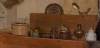 JOHN DOUGLAS PATRICK (American, 1863-1937) Dry sink, circa 1890-1900 Oil on canvas 10 x 20 inches