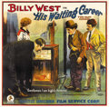 "Movie Posters:Comedy, His Waiting Career (Unicorn Releasing, 1920s). Six Sheet (81"" X81""). This comedy starred Billy West, a talented silent film..."