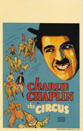 "Movie Posters:Comedy, The Circus (United Artists, 1928). Window Card (14"" X 22""). CharlieChaplin both directed and starred in this comedy gem tha..."