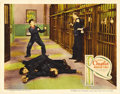 """Movie Posters:Comedy, Modern Times (United Artists, 1936). Lobby Card (11"""" X 14"""").Charlie Chaplin bid farewell to silent comedy with this funny a..."""