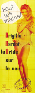 """Movie Posters:Comedy, Please, Not Now! (International Classics, 1963). French Poster (45""""X 123""""). Voluptuous Parisian model Brigitte Bardot finds..."""
