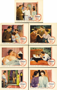 """Ever in My Heart (Warner Brothers, 1933). Lobby Cards (7) (11"""" X 14""""). Barbara Stanwyck stars in this World Wa..."""