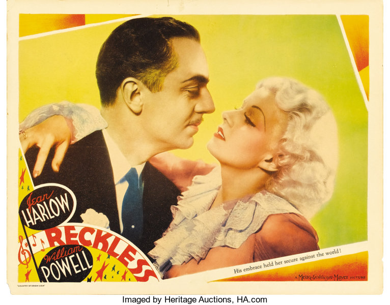 Reckless (MGM, 1935)  Lobby Card (11