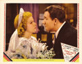 """Movie Posters:Comedy, Libeled Lady (MGM, 1936). Lobby Card (11"""" X 14""""). Jean Harlow andSpencer Tracy are featured in this closeup from one of the..."""
