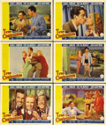 """Movie Posters:Comedy, True Confession (Paramount, 1937). Lobby Cards (6) (11"""" X 14"""").Carole Lombard plays a pathological liar married to stringen...(Total: 6 Items)"""