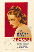 "Movie Posters:Drama, Jezebel (Warner Brothers, 1938). One Sheet (27"" X 41""). Directed byWilliam Wyler, the film was nominated for Best Picture, ..."