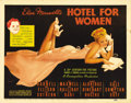 "Movie Posters:Drama, Hotel for Women (20th Century Fox, 1939). Title Lobby Card (11"" X14""). Linda Darnell stars in this primarily all female cas..."
