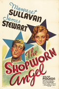 "Movie Posters:Romance, The Shopworn Angel (MGM, 1938). One Sheet (27"" X 41"") Style C.Jimmy Stewart stars as a naive young Texas soldier who is sen..."