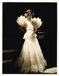"Movie Posters:Miscellaneous, Joan Crawford - George Hurrell Photo (Metro Goldwyn Mayer, 1930). Still (11"" X 14""). In the early 1930s, George Hurrell phot..."