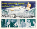 "Movie Posters:Drama, Niagara (20th Century Fox, 1953). Half Sheet (22"" X 28""). MarilynMonroe stars in this film noir about a newlywed who pl..."