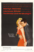 "Movie Posters:Romance, The Prince and the Showgirl (Warner Brothers, 1957). One Sheet (27"" X 41""). This 1957 romantic comedy, about an aspiring act..."