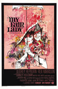 "Movie Posters:Comedy, My Fair Lady (Warner Brothers, 1964). One Sheet (27"" X 41""). InGeorge Cukor's classic musical retelling of George Bernard S..."