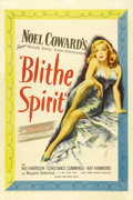 """Movie Posters:Comedy, Blithe Spirit (United Artists, 1945). One Sheet (27"""" X 41""""). NoelCoward's delightful play is brought to the screen by direc..."""
