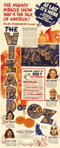 """Movie Posters:Musical, The Wizard of Oz (MGM, 1939). Herald (5"""" X 8"""" folded, unfolds to 8"""" X 20""""). This wonderful Herald for one of the greatest fa..."""