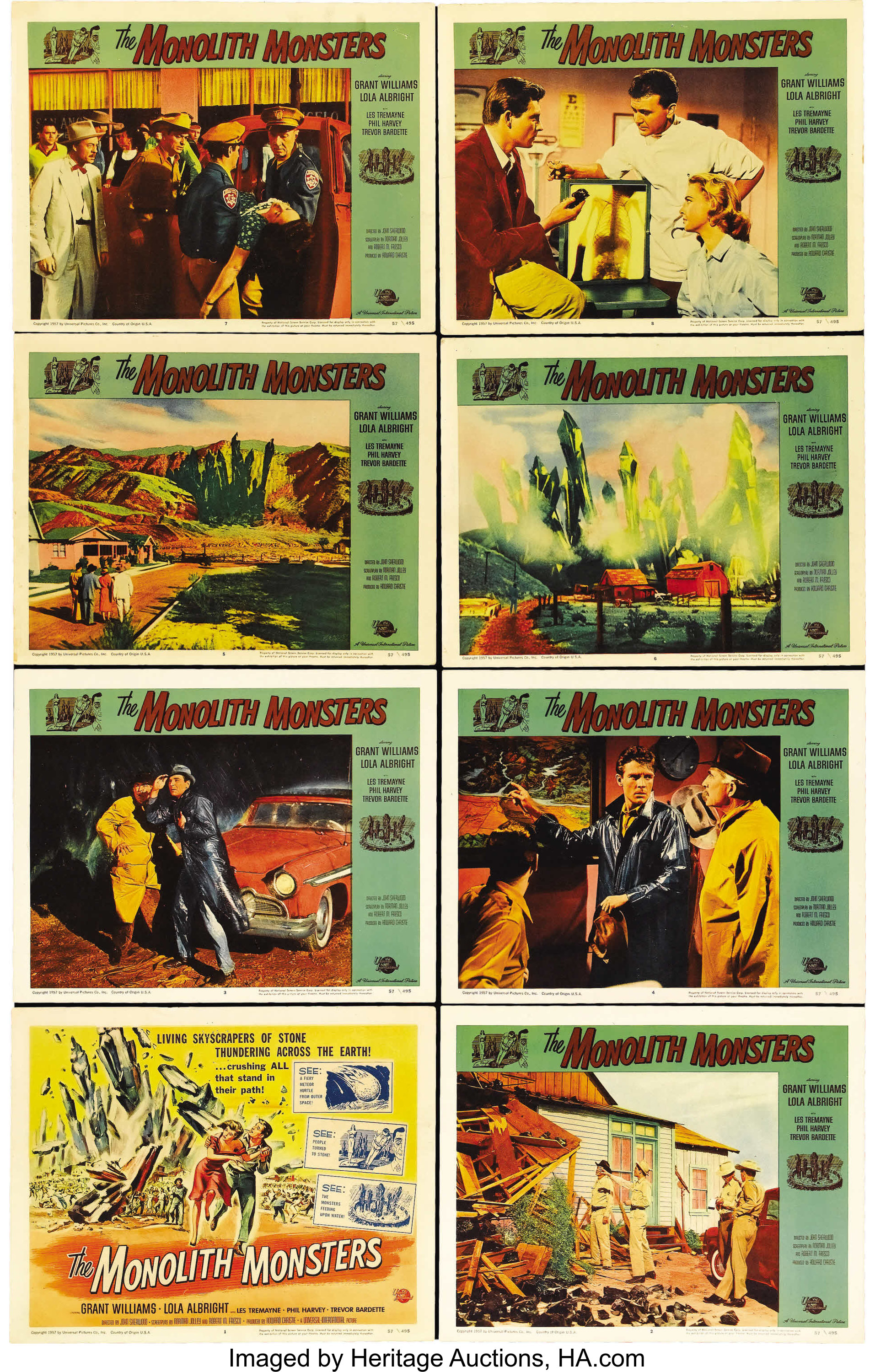 the monolith monsters universal international 1957 lobby card lot 28896 heritage auctions heritage auctions