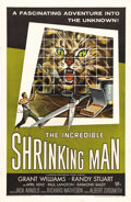 "Movie Posters:Horror, The Incredible Shrinking Man (Universal International, 1957). OneSheet (27"" X 41""). This science fiction film directed by J..."