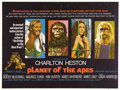 "Movie Posters:Science Fiction, Planet of the Apes (20th Century Fox, 1968). British Quad (30"" X40""). In one of the best science fiction pictures ever made..."