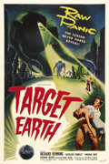 "Movie Posters:Science Fiction, Target Earth (Allied Artists, 1954). One Sheet (27"" X 41""). This film was adapted from Paul W. Fairman's short story ""Deadly..."