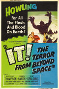 "Movie Posters:Science Fiction, It! The Terror From Beyond Space (United Artists, 1958). Poster(40"" X 60""). This is one of the better low-budget science fi..."