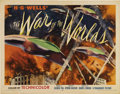 "Movie Posters:Science Fiction, The War of the Worlds (Paramount, 1953). Half Sheet (22"" X 28"")Style B. One of the rarest and most sought after posters for..."