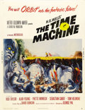 "Movie Posters:Science Fiction, The Time Machine (MGM, 1960). Poster (30"" X 40""). H.G. Wells'sclassic novel was brought to the screen in grand fashion by G..."