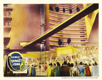 """Things to Come (United Artists, 1936). Lobby Card (11"""" X 14""""). Predictions of the world's future, from the pre..."""
