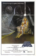 """Movie Posters:Science Fiction, Star Wars (20th Century Fox, 1977). One Sheet (27"""" X 41"""") Style A.Although the Tom Jung, Style A poster was widely circulat..."""