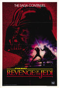 "Movie Posters:Science Fiction, Revenge of the Jedi (20th Century Fox, 1982). One Sheet (27"" X41""). Advance. This is the legendary advance teaser one sheet..."