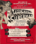 Movie Posters:Adventure, Superman (Columbia, 1948, 1950). Pressbooks (2) (Multiple Pages).After almost ten years, Columbia studios was able to negot...(Total: 2 Items)