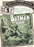 Movie Posters:Serial, The New Adventures of Batman and Robin (Columbia, 1949). Pressbook (Multiple Pages). Used by the exhibitor to advertise the ...