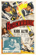 "Movie Posters:Adventure, Blackhawk (Columbia, 1952). One Sheet (27"" X 41"") Chapter 3: ""Inthe Enemy's Hideout."" Based on a 1940s comic book series, t..."