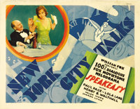 "Speakeasy (Fox, 1929). Title Lobby Card (11"" X 14""). Fox made extensive use of its early Movietone stock foota..."