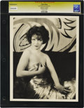 "Movie Posters:Miscellaneous, Clara Bow - Lost Hollywood Collection. Still (10"" X 13""). Clara Bowby Eugene Robert Richee, in a saucy pose. Reverse displa..."