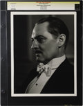 "Movie Posters:Miscellaneous, Washington Masquerade - Culver Pictures (MGM, 1932). Still (10"" X 13""). Lionel Barrymore photographed by George Hurrell. Pho..."