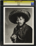 """Movie Posters:Miscellaneous, Viva Villa! - Culver Pictures (Paramount, 1937).Still (8"""" X 10""""). Wallace Beery photographed by George Hurrell. Reverse disp..."""