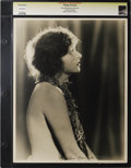 "Movie Posters:Miscellaneous, Corrine Griffith - Lost Hollywood Collection. Still (11"" X 14""). Corrine Griffith as photographed by Edwin Bower Hesser. Pri..."