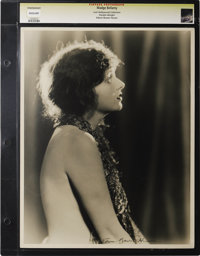"Corrine Griffith - Lost Hollywood Collection. Still (11"" X 14""). Corrine Griffith as photographed by Edwin Bow..."