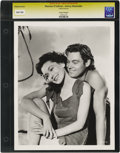 """Movie Posters:Miscellaneous, Maureen O'Sullivan and Johnny Weismuller - Culver Pictures. Still (8"""" X 10""""). Maureen O'Sullivan and Johnny Weismuller strik..."""