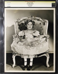 """Movie Posters:Miscellaneous, The Little Colonel - Culver Pictures (Fox Films, 1935). Still (11"""" X 14""""). Shirley Temple photographed by Otto Dyar. Reverse..."""