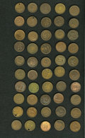 Civil War Patriotics, Group of 50 Civil War Patriotic Tokens.... (Total: 50 tokens)