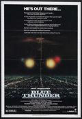 """Movie Posters:Action, Blue Thunder (Columbia, 1983). One Sheet (27"""" X 41""""). Crime Action. Starring Roy Scheider, Warren Oates, Malcolm McDowell, D..."""