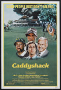 "Movie Posters:Comedy, Caddyshack (Orion, 1980). One Sheet (27"" X 41""). Comedy. StarringChevy Chase, Rodney Dangerfield, Ted Knight, Bill Murray, ..."